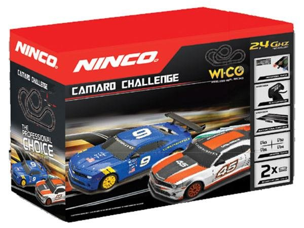 NINCO Camaro Challenge WICO Race Set 20166 - LIKE NEW