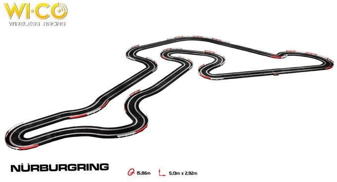 NINCO Nurburgring WICO Race Set - no cars 20177