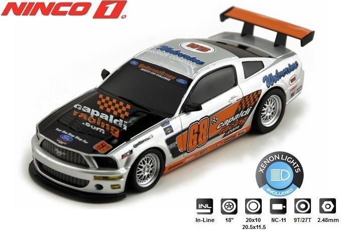NINCO 1 Ford Mustang Capaldi 1/32 Slot Car 55094
