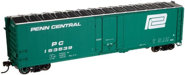 Atlas HO 50' Plug Door Box Car Penn Central 153539