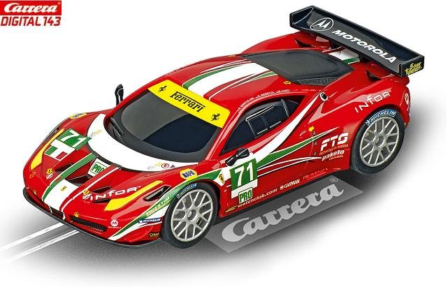 Carrera DIGITAL 143 Ferrari 458 Italia GT2 AF Corse 1/43 Slot Car 41373