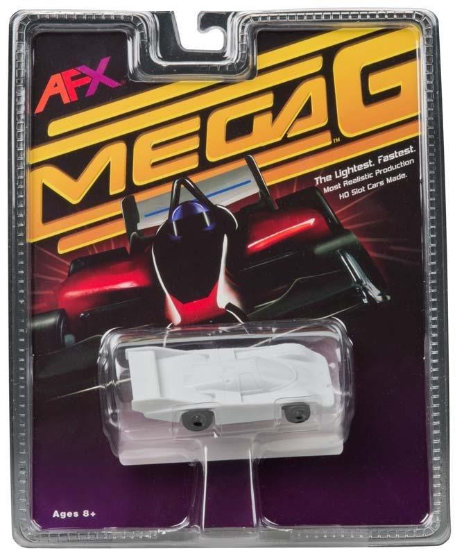 AFX Mega-G Porsche 962 HO Slot Car - White Paintable 21013