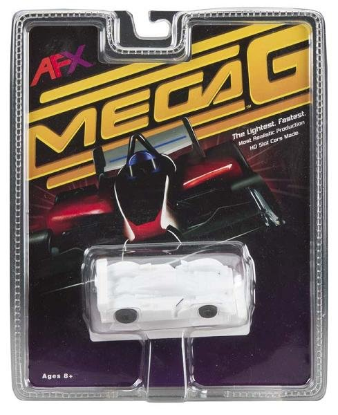 AFX Mega-G Peugeot 908 HO Slot Car - White Paintable 21000