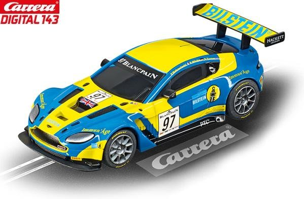 Carrera DIGITAL 143 Aston Martin V12 Vantage GT3 Bilstein 1/43 Slot Car 41380