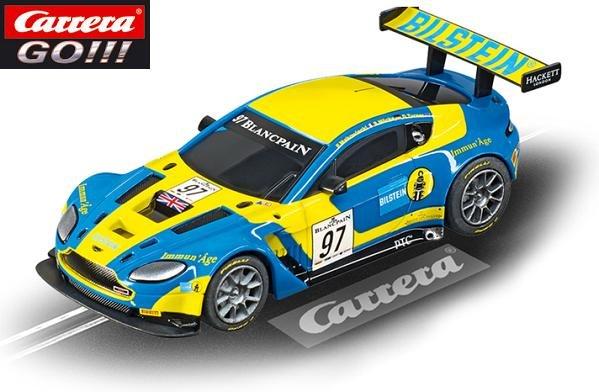 Carrera GO Aston Martin V12 Vantage GT3 AMR Bilstein 1/43 Slot Car 64004