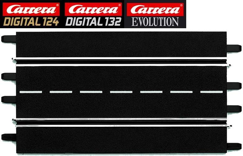 Carrera DIGITAL 124/132/Evolution  Standard Straight Track (2) 20601 - USED