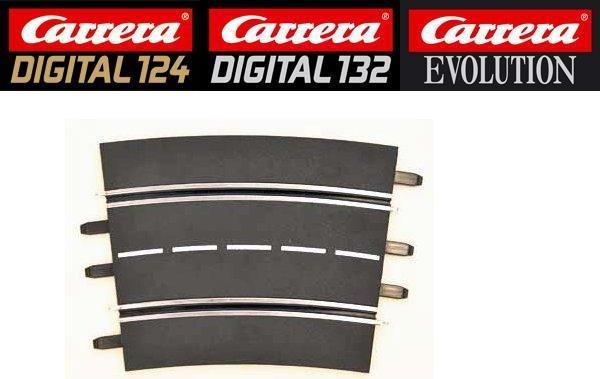 Carrera DIGITAL 124/132/Evolution 4/15° Curve Track 20578