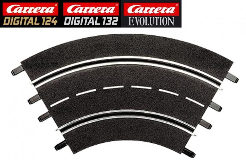 Carrera DIGITAL 124/132/Evolution 1/60° Curve Track 20571