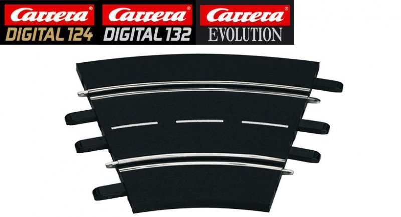 Carrera DIGITAL 124/132/Evolution 1/30° Curve Track 20577