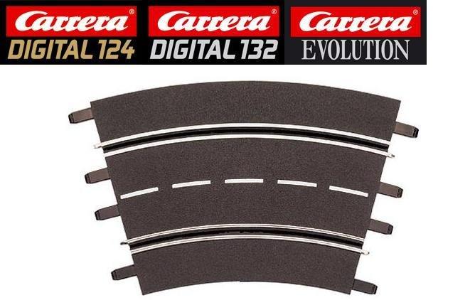 Carrera DIGITAL 124/132/Evolution 2/30° Curve Track 20572 - USED