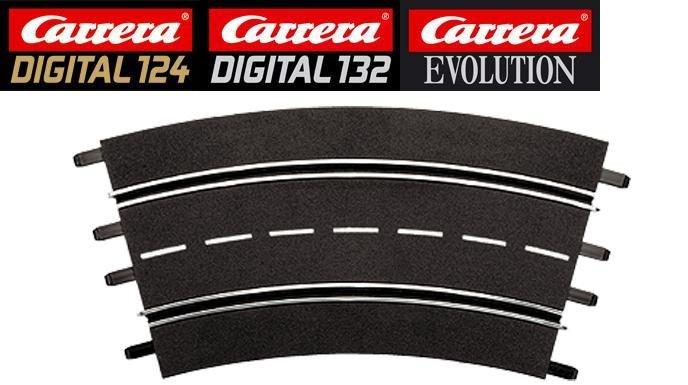 Carrera DIGITAL 124/132/Evolution 3/30° Curve Track 20573