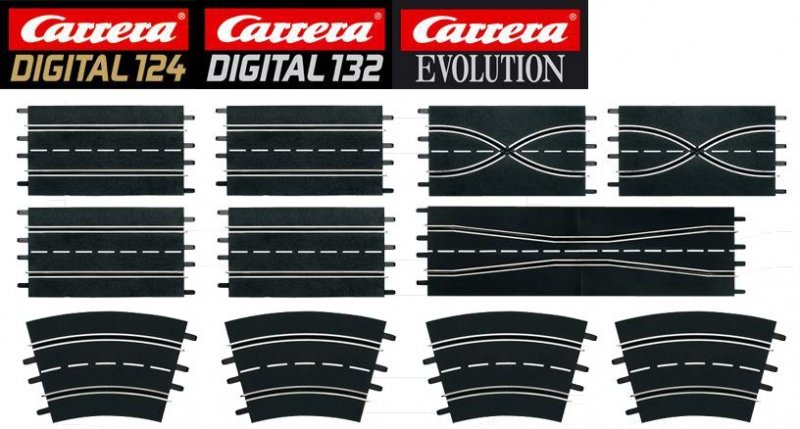 Carrera DIGITAL 124/132/Evolution Extension Set 2 26956