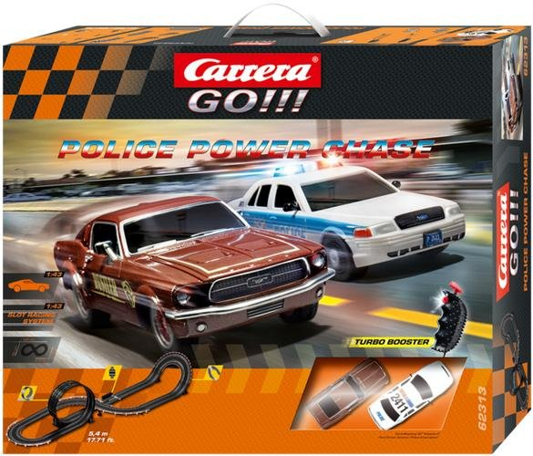 Carrera GO Police Power Chase 1/43 Race Set