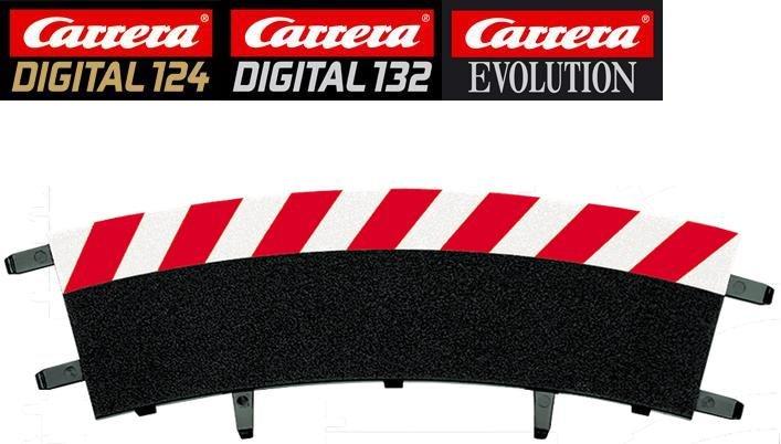 Carrera DIGITAL 132/124/Evolution 2/30° Curve Outside Shoulders 20562 - USED