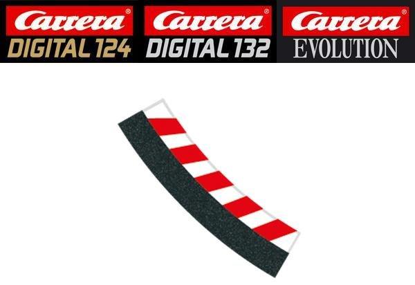 Carrera DIGITAL 132/124/Evolution 3/30° Curve Inside Shoulders 20592 - USED