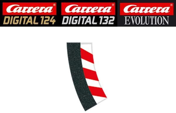 Carrera DIGITAL 132/124/Evolution 2/30° Curve Inside Shoulders 20591