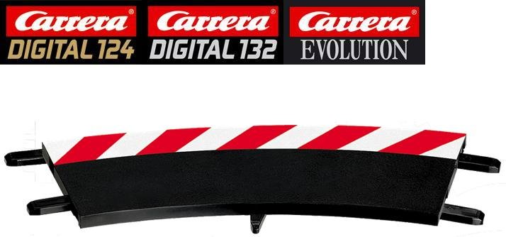 Carrera DIGITAL 132/124/Evolution 1/30° Curve Outside Shoulders 20567