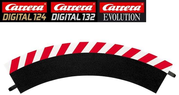 Carrera DIGITAL 132/124/Evolution 1/60° Curve Outside Shoulders 20561