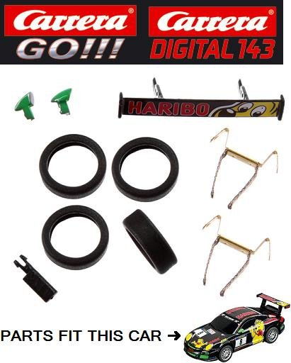 Carrera GO/DIGITAL 143 Porsche GT3 Cup HARIBO Racing Accessories 88322