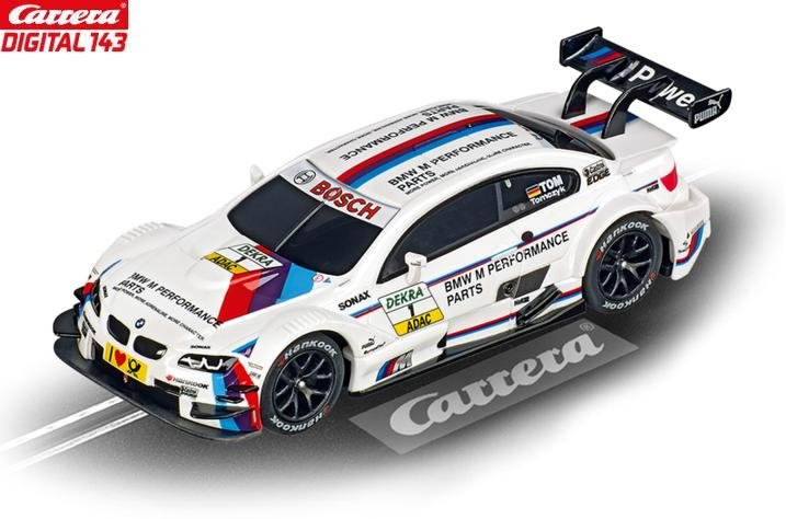 Carrera DIGITAL 143 BMW M3 DTM Tomczyk 1/43 Slot Car 41368