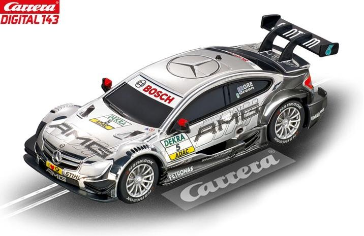 Carrera DIGITAL 143 AMG Mercedes C-Coupe DTM J Green 1/43 Slot Car 41369