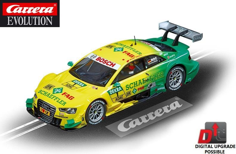 Image 0 of Carrera EVOLUTION Audi A5 DTM Rockenfeller 1/32 Slot Car 27473
