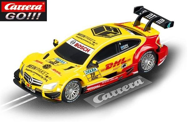 Carrera GO AMG Mercedes C-Coupe DTM Coulthard 1/43 Slot Car