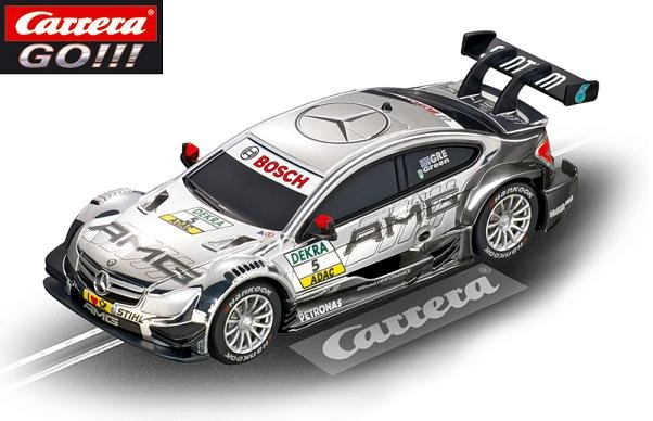 Carrera GO AMG Mercedes C-Coupe DTM Green 1/43 Slot Car 61274