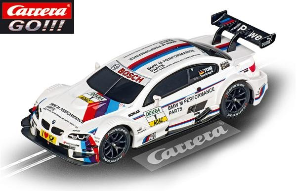Carrera GO BMW M3 DTM Tomczyk 1/43 Slot Car 61272