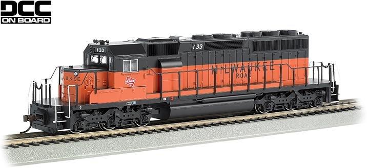 Bachmann HO EMD SD40-2 Diesel Locomotive Milwaukee Road 133
