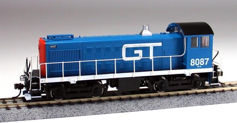 Bachmann HO ALCO S4 Switcher Locomotive Grand Trunk 8087