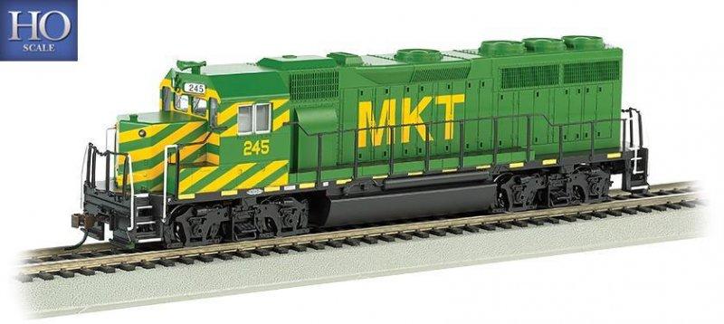 Bachmann HO EMD GP40 Diesel Locomotive MKT 245