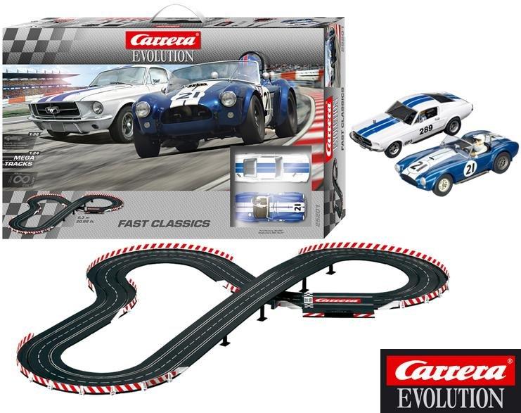 Carrera 25201 EVOLUTION Fast Classics 1/32 Race Set