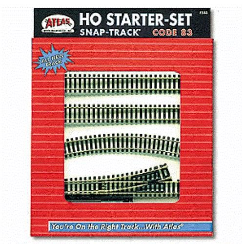 Atlas HO Code 83 Snap-Track Starter Set 588
