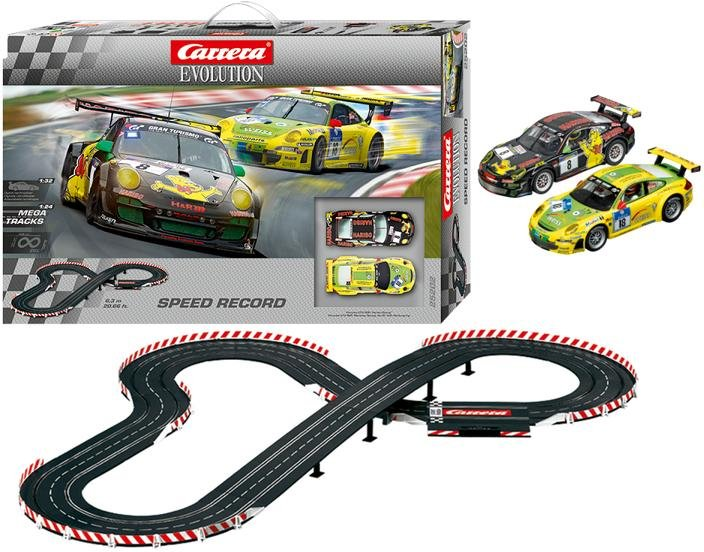 Carrera 25202 EVOLUTION Speed Record 1/32 Race Set