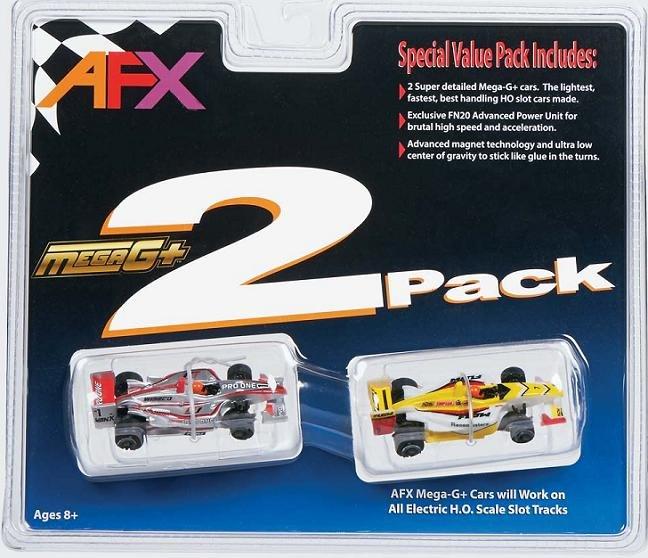 AFX Mega-G+ Formula Two Pack 21021