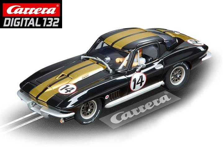Carrera DIGITAL 132 Chevrolet Corvette Sting Ray 1/32 Slot Car 30689