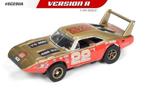 Auto World X-Traction 1969 Dodge Charger Daytona Bobby Allison HO Slot Car