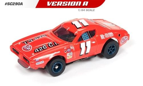 Auto World X-Traction 1972 Dodge Charger Buddy Baker HO Slot Car