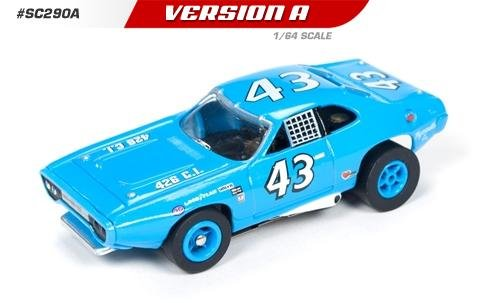 Auto World X-Traction 1971 Plymouth Roadrunner Richard Petty HO Slot Car