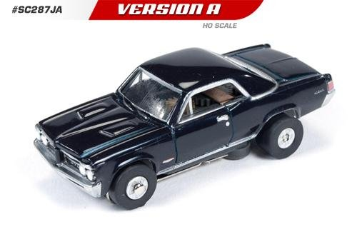 Auto World ThunderJet Ultra-G 1964 Pontiac GTO HO Slot Car - Black