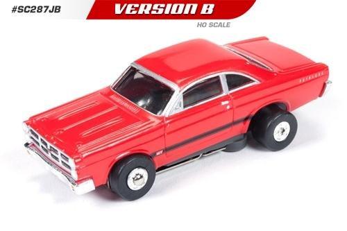 Auto World ThunderJet Ultra-G 1967 Ford Fairlane HO Slot Car - Red