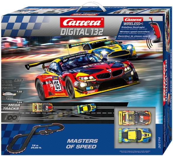 Carrera 30174 DIGITAL 132 Masters of Speed 1/32 Race Set