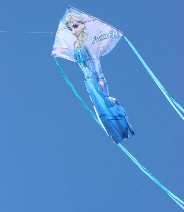 Image 1 of Frozen Elsa BreezyFliers Nylon Kite