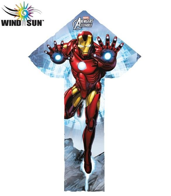 Iron Man BreezyFliers Nylon Kite