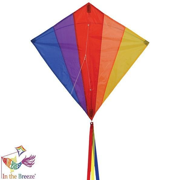 Rainbow 30 Diamond Kite