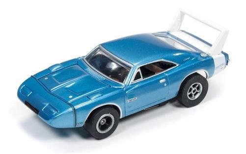 Auto World X-Traction 1969 Dodge Daytona HO Slot Car - Blue