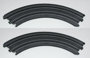 AFX  9'' Radius 90° Curve Track (2) #8623