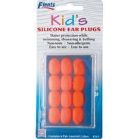 Ear Plug Kids Silicone Colors 6x6 Pr