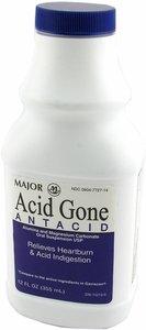 Image 0 of Acid Gone Antacid Suspension 1X355ml Mfg. By Major Pharmaceuticals